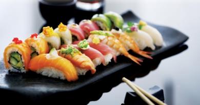 SUSHI: Gaven til sushi-elskeren