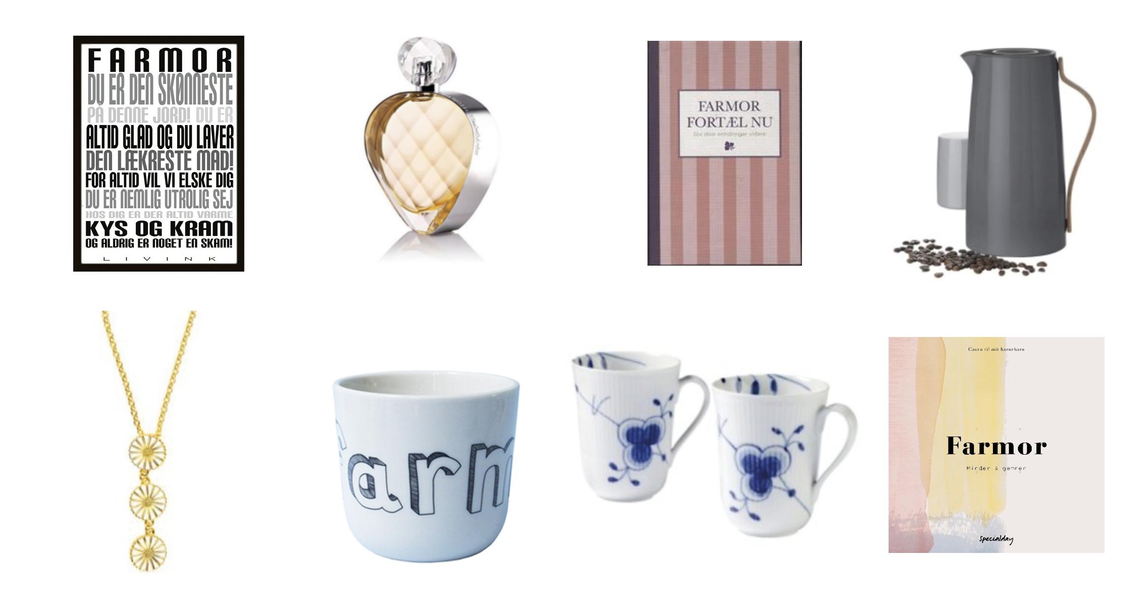 gaveideer til mormor og morfar